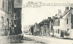 Sivry - Village en ruines (La Grand'Rue)