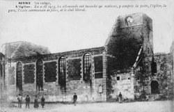 Sivry - Village en ruines (Eglise)