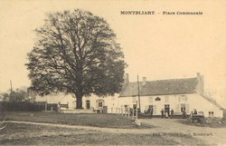 Montbliart - Place communale