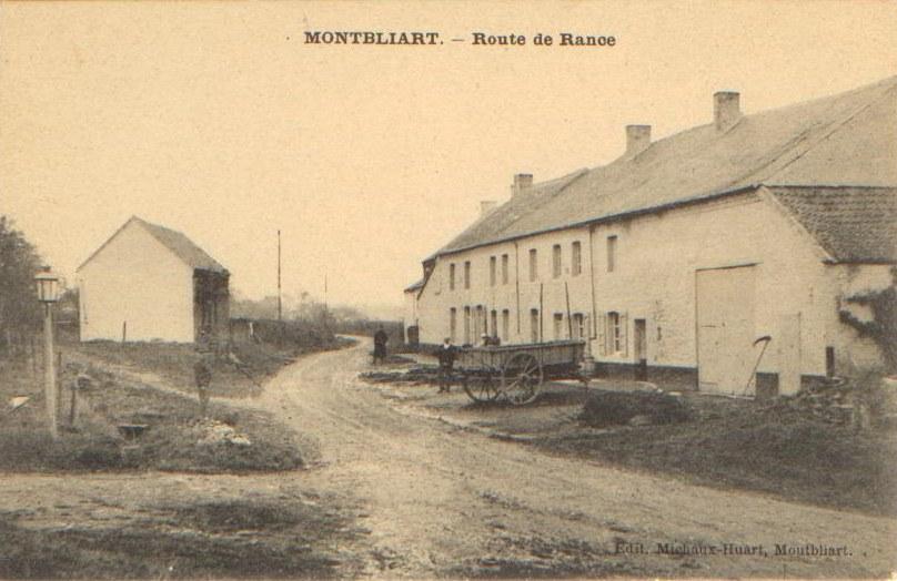 Montbliart - Route de Rance