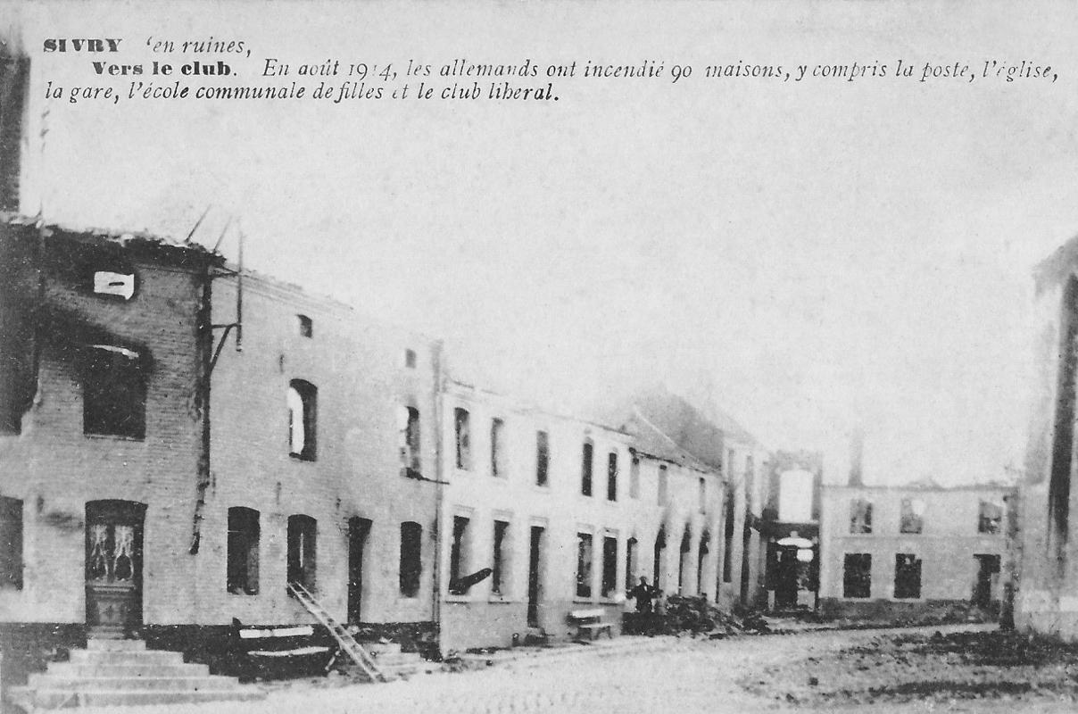 Sivry - Village en ruines