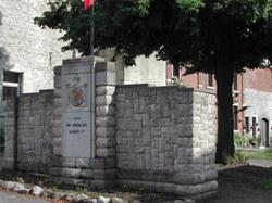 Rance - Monument dédié au Roi Chevalier Albert 1er