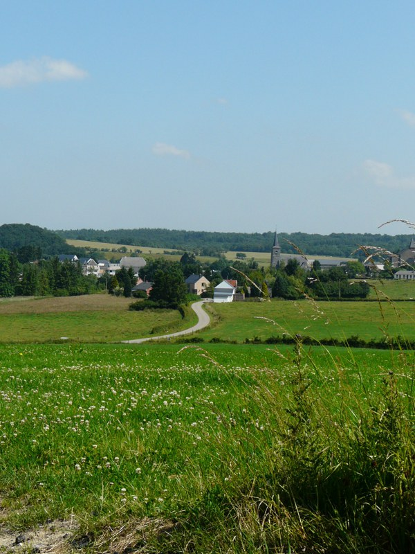 Rance - Panorama sur le village