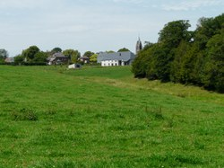 Sautin - Panorama sur le village