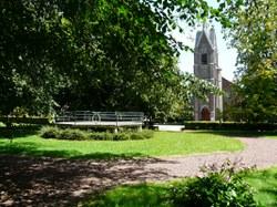 Sautin - Parc et église