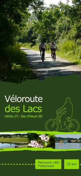 Cover dépliant Véloroute des Lacs