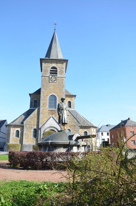 Eglise de Sivry + Monument aux morts (1)
